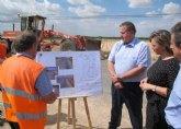 Las obras de mejora de la carretera que une Torre Pacheco con Balsicas concluirán antes de final de año