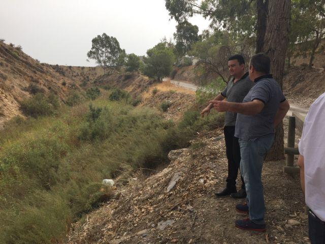 El alcalde de Los Ramos advierte del riesgo de inundaciones por el estado de las ramblas - 1, Foto 1