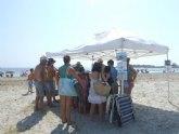 Más de 600 personas han participado en las actividades del Parque Regional Salinas y Arenales de San Pedro del Pinatar