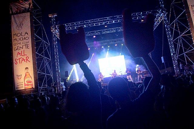 Cartagena se vuelca con el Conciertazo Amstel Carthagineses y Romanos, donde los totaneros DISCORDIA actuaron de teloneros - 2, Foto 2