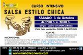 Curso Intensivo de Salsa estilo Chicas en la Escuela de Danza Manoli Cánovas