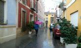 Totana y la comarca del Guadalentín tendrá este domingo alerta amarilla por precipitaciones y posibles tormentas