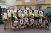 Una veintena de atletas del club atletismo de Totana participaron en la II Media Maratón y 10K Feria de Alhama