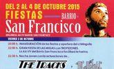 Las fiestas del barrio de San Francisco se celebran del 2 al 4 de octubre