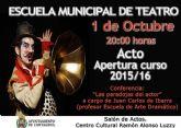 La Escuela Municipal de Teatro sube el Telón