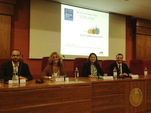 Murcia, elegida para ostentar la vicepresidencia de la Red Civinet España-Portugal que promueve la movilidad sostenible urbana - 1, Foto 1