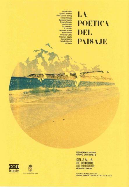 "The ""Con-Fret"" Cultural Association of Painters organized the exhibition ""Poetic Landscape"""