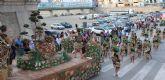 Más de una veintena de carrozas participarán en el desfile que se celebra este sábado en Puerto Lumbreras