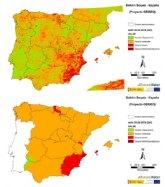 Una spin-off de la Politécnica de Cartagena actualiza semanalmente el estado de la sequía en la Península