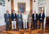 El alcalde conoce la hoja de ruta marcada por la Plataforma por la Biprovincialidad para la restitución de la provincia de Cartagena