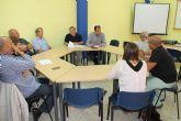 El concejal de Empleo se reúne con representantes sindicales y capataces de los consejos comarcales