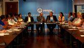 El PP lleva a los 45 municipios de la Región una iniciativa de apoyo a la llegada del AVE