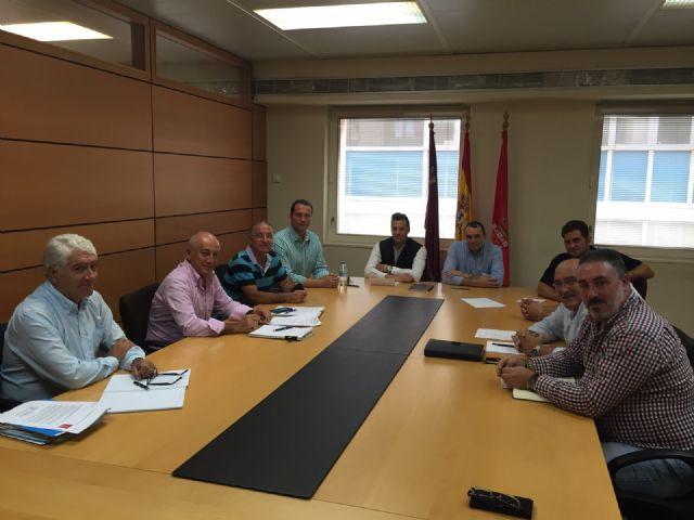 Ortiz agradece al comité de empresa de Cespa el trabajo que están realizando para que Murcia sea una de las ciudades más limpias de España - 1, Foto 1