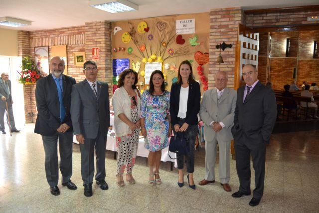La Residencia de Pensionistas Ferroviarios de Águilas celebró el día de San Miguel, su patrón - 1, Foto 1