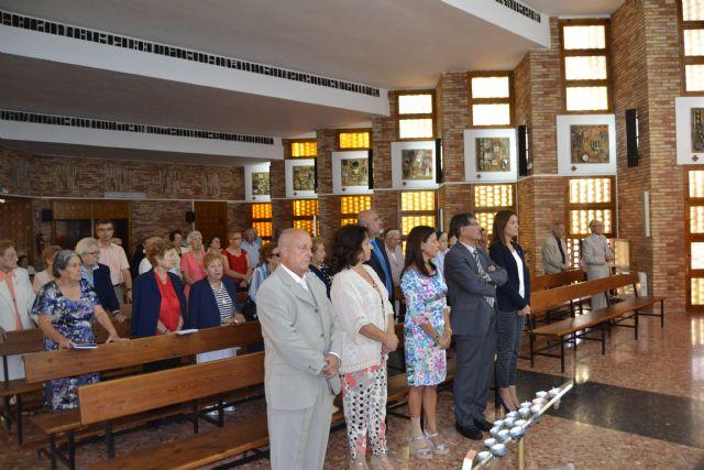 La Residencia de Pensionistas Ferroviarios de Águilas celebró el día de San Miguel, su patrón - 3, Foto 3