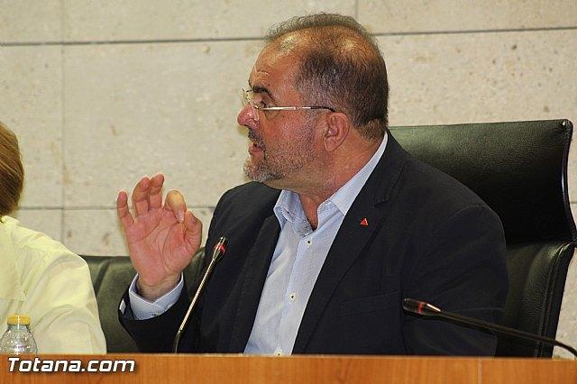 El alcalde de Totana, Juan José Cánovas, en una foto de archivo del último Pleno / Totana.com, Foto 1