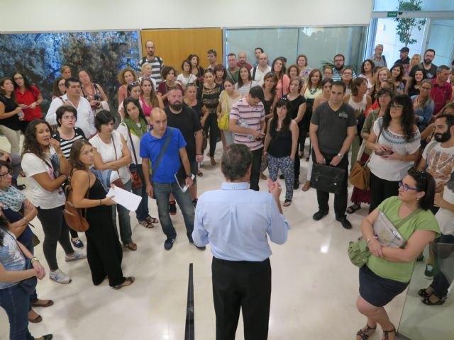 65 aspirantes superan la primera fase de la prueba para obtener la habilitación oficial de guía turístico de la Región de Murcia - 1, Foto 1