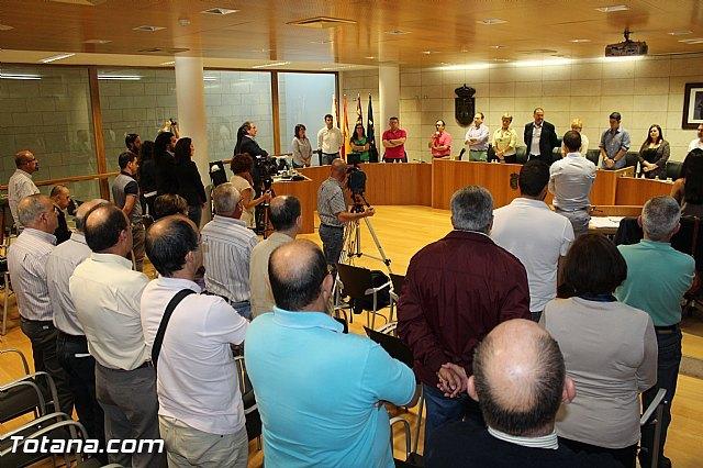 The Municipal Corporation pays institutional recognition of simple gratitude to the figure of the recently deceased neighbor, Juan Antonio Yanez de Lara