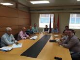 Ortiz agradece al comité de empresa de Cespa el trabajo que están realizando para que Murcia sea una de las ciudades más limpias de España