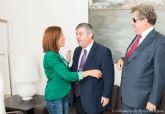 López y Castejón mantienen contacto con el delegado territorial de la ONCE