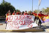 UJCE Región de Murcia: 'No queremos reyes, queremos futuro'