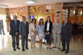 La Residencia de Pensionistas Ferroviarios de Águilas celebró el día de San Miguel, su patrón