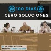 El PSOE denuncia la incapacidad y la falta de proyecto del PP tras 100 días de gobierno