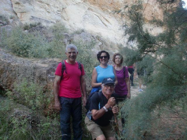 33 personas participaron en una ruta senderista por Mula y Albudeite, Foto 6