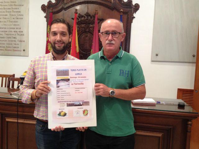 El Centro Internacional de Voley Playa de Lorca acoge este domingo una jornada promocional de Tenis Playa - 1, Foto 1