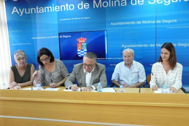 El Ayuntamiento de Molina de Segura y tres organizaciones sociales firman convenios de colaboración por un importe total de 13.000 euros - 1, Foto 1