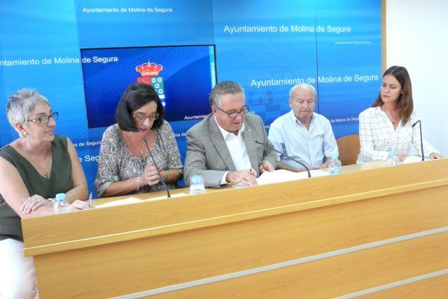 El Ayuntamiento de Molina de Segura y tres organizaciones sociales firman convenios de colaboración por un importe total de 13.000 euros - 2, Foto 2