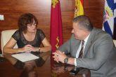 Francisco Bernabé se compromete a la mejora de la carretera de El Carche