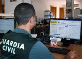 La Guardia Civil localiza a una joven desorientada en una zona de monte de Bullas
