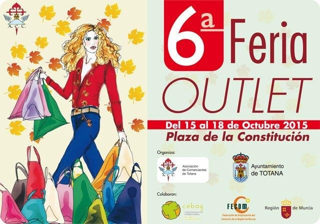 Hoy finaliza el plazo para presentar solicitudes en el caso de los comercios que quieran un expositor en la VI Feria Outlet de Totana, Foto 1