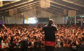 Más de 4.000 personas en el Festival Electro-Latino celebrado anoche en Puerto Lumbreras