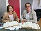 El Archivo General de la Región custodiará varios documentos históricos de Ricote