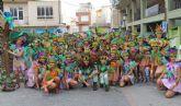 Miles de lumbrerenses participan en el Desfile de Carrozas con motivo de las Fiestas Patronales 2015