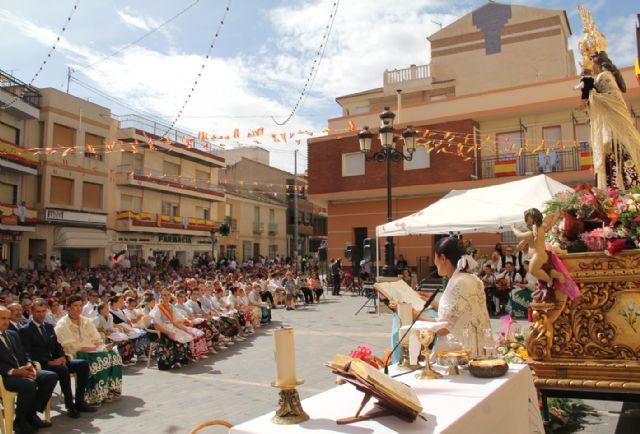 Puerto Lumbreras acoge la tradicional Ofrenda Floral a la Virgen del Rosario' 2015 - 1, Foto 1