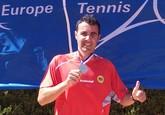 El totanero Pedro Cánovas Subcampeón de Europa por Clubs de veteranos +35