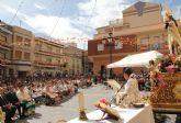 Puerto Lumbreras acoge la tradicional Ofrenda Floral a la Virgen del Rosario' 2015
