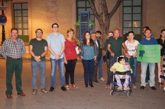El Ayuntamiento se suma a los actos con motivo de la presentación de la nueva imagen corporativa del movimiento de asociaciones de la discapacidad intelectual FEAPS, Foto 3