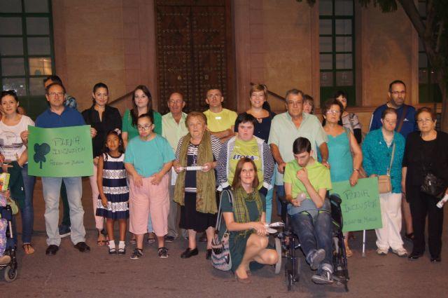 El Ayuntamiento se suma a los actos con motivo de la presentación de la nueva imagen corporativa del movimiento de asociaciones de la discapacidad intelectual FEAPS, Foto 4