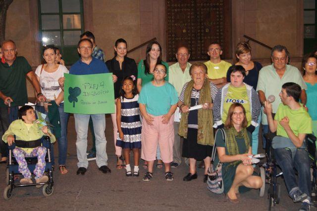El Ayuntamiento se suma a los actos con motivo de la presentación de la nueva imagen corporativa del movimiento de asociaciones de la discapacidad intelectual FEAPS, Foto 5