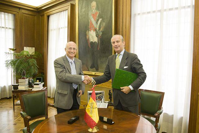 El Director General de la Guardia Civil y el Presidente del Teléfono de la Esperanza firman un protocolo colaboración - 4, Foto 4