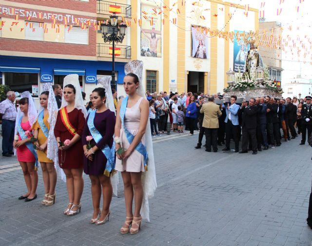 Miles de lumbrerenses acompañaron a la Stma. Virgen del Rosario en la tradicional Procesión - 1, Foto 1