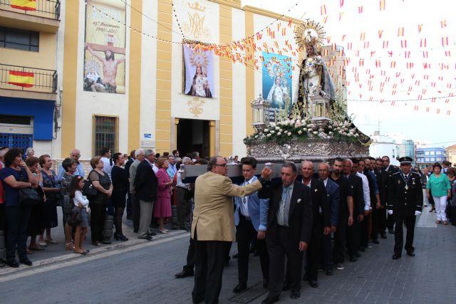 Miles de lumbrerenses acompañaron a la Stma. Virgen del Rosario en la tradicional Procesión - 2, Foto 2