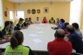 Reunión Alcaldesa, Concejal, Directores de centros escolares y Policías Tutores para marcar las pautas de este curso