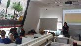 Taller de Formación en Economía Social y Autoempleo, impartido por UCOMUR en la Agencia de Desarrollo Local  de Alcantarilla