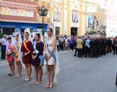 Miles de lumbrerenses acompañaron a la Stma. Virgen del Rosario en la tradicional Procesión