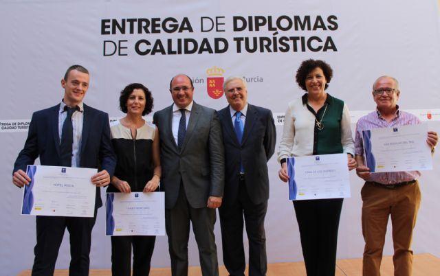 Cuatro empresas de Puerto Lumbreras reciben el diploma con el sello de Calidad Turística SICTED - 1, Foto 1